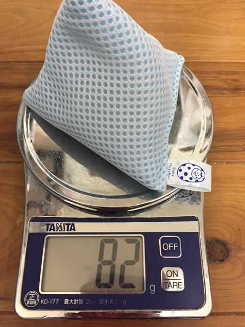 新品のベビーマグちゃんの重量