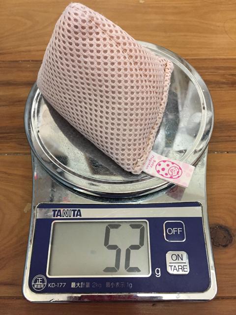 約一年使ったベビーマグちゃんの重量