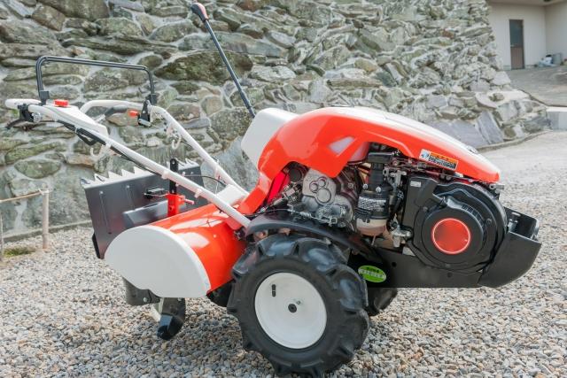 リアロータリー式耕運機